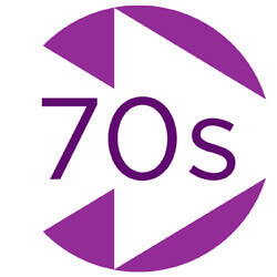 Absolute 70s logo