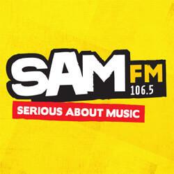 SAM FM 106 logo