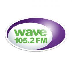 Wave 105 FM logo